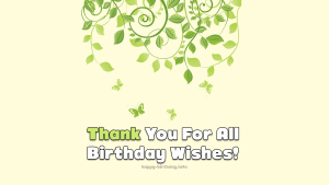 Thank You Birthday on Facebook 2