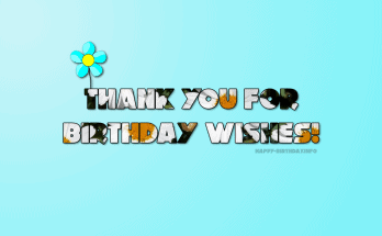 Thank You Messages & Notes for Birthday Wishes on Facebook
