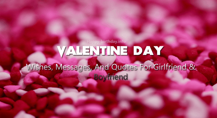Valentine Day Wishes, Messages, And Quotes For Girlfriend & Boyfriend