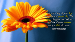 Happy 30th Birthday Wishes, Messages, And Quotes