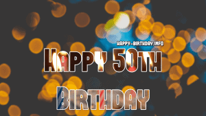 Happy 50th Birthday Wishes Messages And Quotes