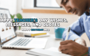Happy Teacher's Day Wishes, Messages, And Quotes
