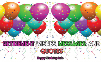 Retirement Wishes, Messages, and Quotes