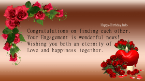 Happy Engagement Day Wishes