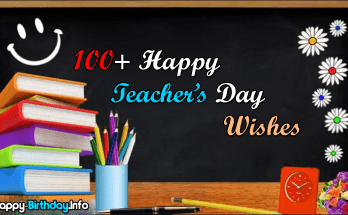 100+ Happy Teacher's Day Wishes