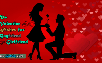 70+ Valentine Day Wishes for Boyfriend and Girlfriend