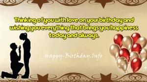 Romantic Birthday Message