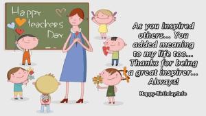 Happy Teacher's Day Wishes