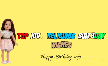Top 100+ Religious Birthday Wishes