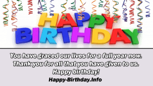 100+ Happy 1st Birthday Wishes, Messages, and Quotes