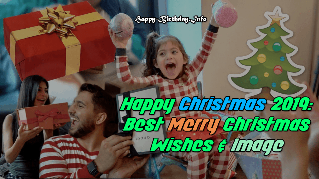 Happy Christmas 2019: Best Merry Christmas Wishes & Image