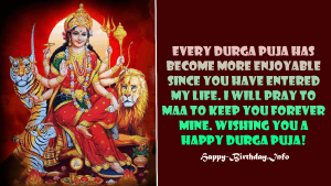 Durga Puja Messages for GF, BF, Husband or Wife