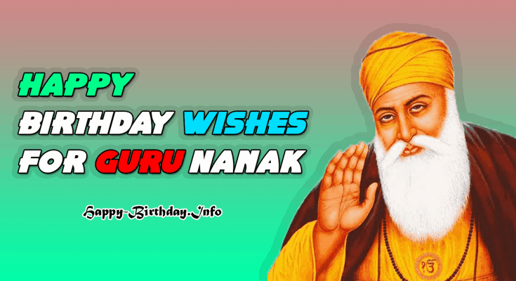 Happy Birthday Wishes For Guru Nanak