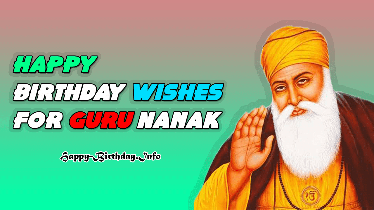 happy birthday wishes for guru nanak