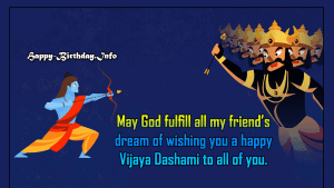 Happy Vijaya Dashami Wishes