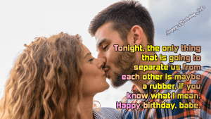 Sexy Birthday Wishes for Boyfriend and Girlfriend