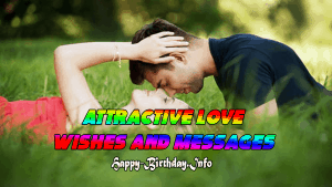 Attractive Love Wishes and Messages