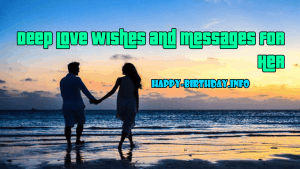 Deep Love Wishes and Messages For Her
