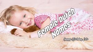 Female Dutch Names